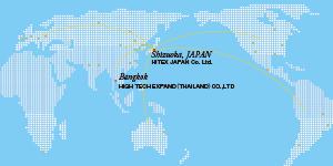 自動制御装置に関する海外サービスのイメージ
